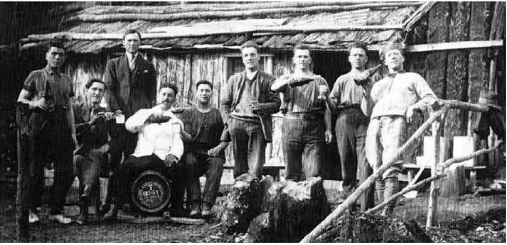 Workers at O'Shannassy Weir